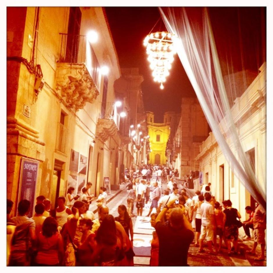 NOTARTE festival- VIA NICOLACI - NOTO