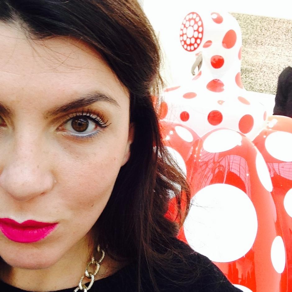 Selfie_FIAC2014_David Zwirner Gallery