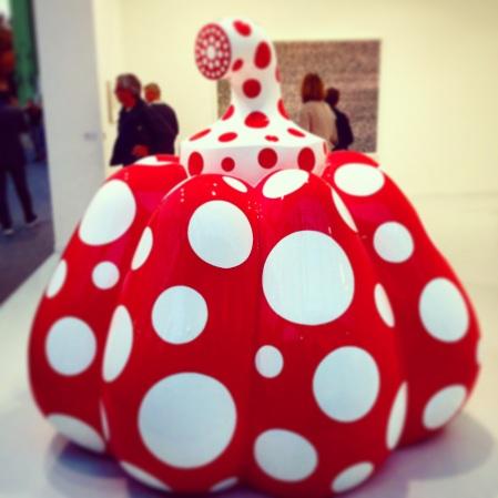Yayoi Kusama, Pumpkin, 2014 @David Zwirner Gallery