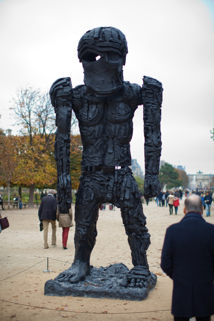 Thomas Houseago, Giant Figure (Cyclops), 2010 @Xavier Hufkens Gallery