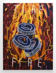 David Schroeter, Tire Fire, 2015